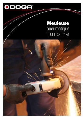 Meuleuse pneumatique Turbine - Doga