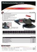 Meuleuse pneumatique Turbine - Doga - Page 2