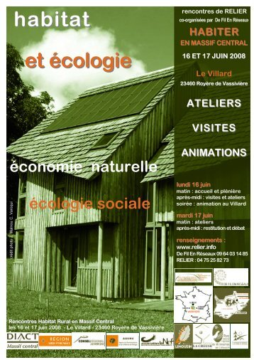 habitat et écologie - Relier