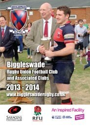 Members Handbook 2013.indd - Biggleswade Rugby Club