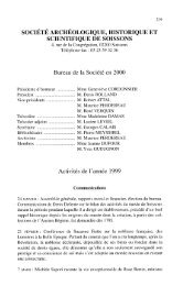Société archéologique, historique et scientifique de Soissons