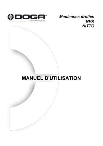 MANUEL D'UTILISATION - Doga