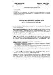 Délibération - Ecotourisme dans les Landes de Gascogne