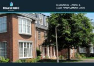 residential leasing & asset management guide - Frazer Kidd