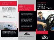 ADVANCED MARINE & OFF-ROAD POWER - WyoTech Tour