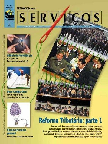 Reforma Tributária: parte 1 - Fenacon