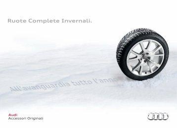 Ruote Complete Invernali. - Audi