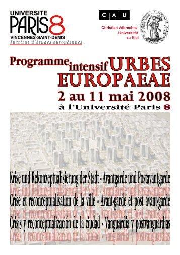 télécharger le programme - Institut d'études européennes