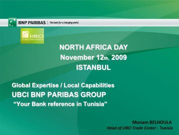 1.1. TUNISIA : Economic Outlook - Teb.com