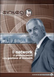 [PDF - 21.9 Mb] Brochure Amministratori 18/10/2009 - Sinteg