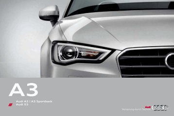 Audi A3 | A3 Sportback Audi S3