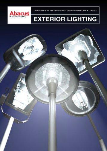 Exterior Lighting brochure - Abacus Lighting