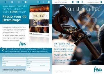 Ledenmagazine Kunst & Cultuur mei 2010. - Hetbeteretekstwerk.nl