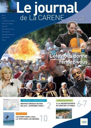 Le journal - La Carène
