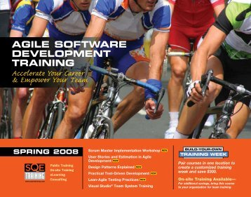 Agile Software Development Training - SQE.com