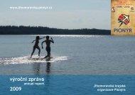 05. Výroční zpráva 2009 - Jihomoravská krajská organizace Pionýra