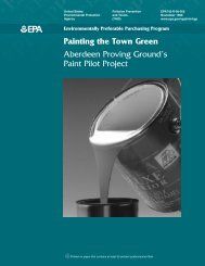 Painting the Town Green Aberdeen Proving ... - Clean Air Counts