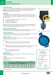 PR09IMA Centric Butterfly Valves - ARMATURY Group a.s.