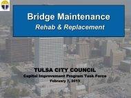 Bridges - The City of Tulsa Online