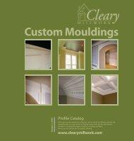 Custom Mouldings - Cleary Millwork