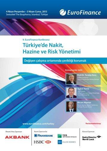 Türkiye'de Nakit, Hazine ve Risk Yönetimi - Teb.com
