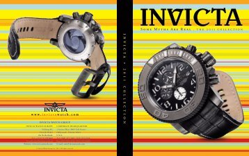 Some Myths Are Real . the 2011 collection - Hodinky Invicta