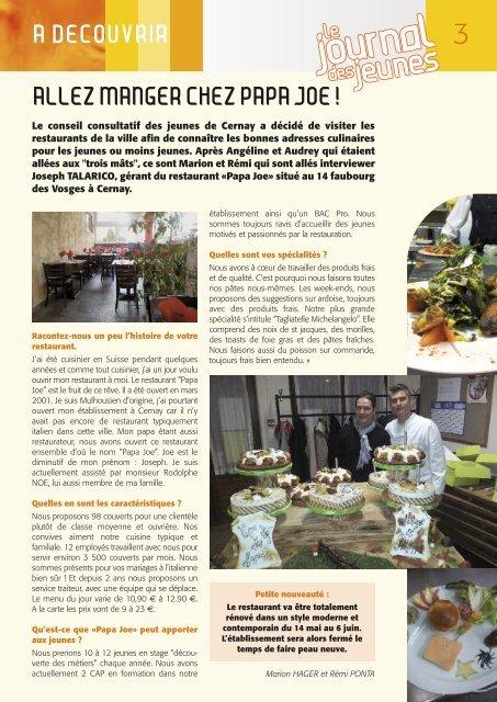 Télécharger le magazine - Cernay