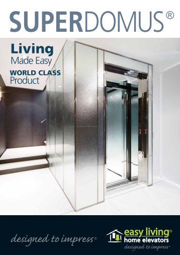download brochure - Easy Living Home Elevators