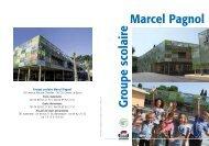 Télécharger le dépliant du groupe scolaire Marcel Pagnol - Cannes