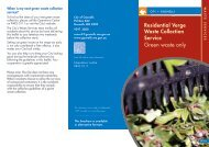 Green waste brochure - City of Gosnells - wa.gov.au