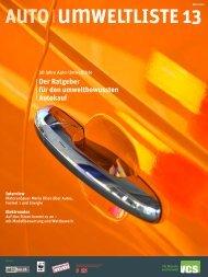 Auto-Umweltliste 2013