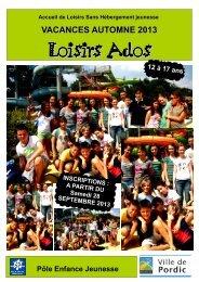 Loisirs Ados - Pordic