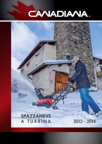 Catalogo Canadiana Neve - FIABA Srl