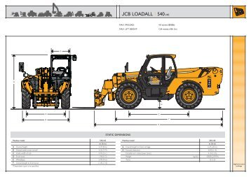 Telehandler 540-140 - Plant Hire UK Limited