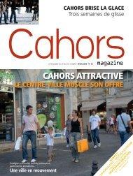 cahors attractive le centre-ville muscle son offre