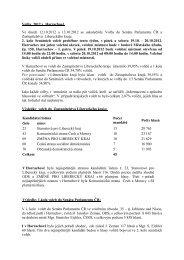 Volby 2012 v Harrachově Ve dnech 12.10.2012 a 13.10.2012 se ...