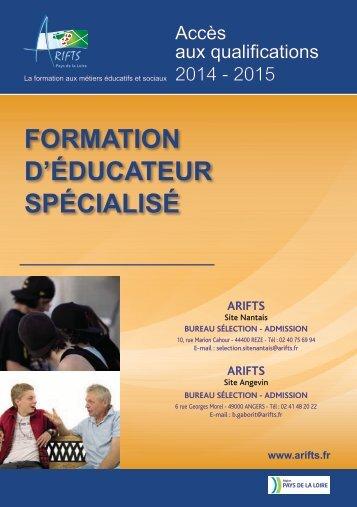 Pour en savoir plus sur la formation Educateur spécialisé - Arifts