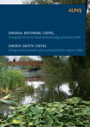 Integrated Annual and Sustainability Report ... - KÖVET Egyesület