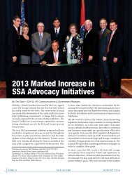 2013 Marked Increase in SSA Advocacy Initiatives - Self Storage ...