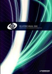 RELATÓRIO ANUAL 2008 - Dataprev