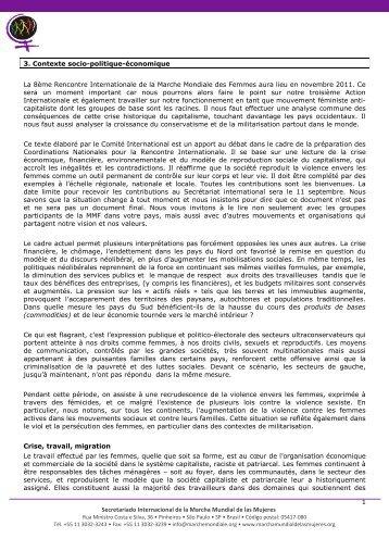 03-Contexte socio-politique-économique