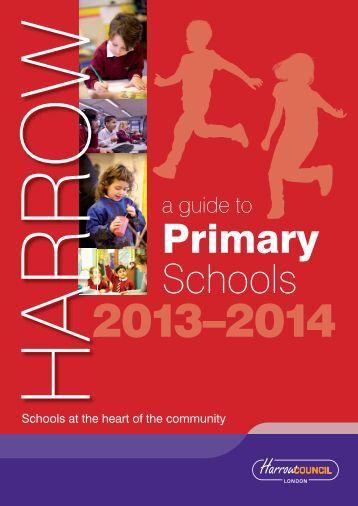 A Guide to Primary Schools 2013–2014 - Avanti Schools Trust