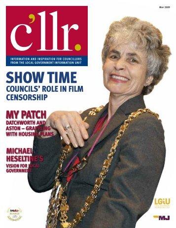 C'llr Magazine May 2009 - LGiU
