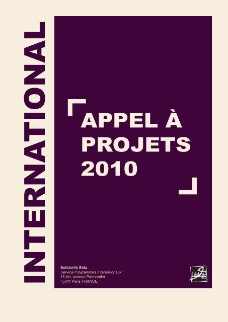 Solidarité Sida Service Programmes Internationaux 16 bis ... - Amades