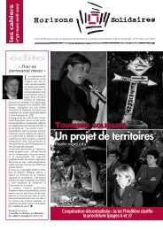 Mars/avril 2007 - Horizons Solidaires