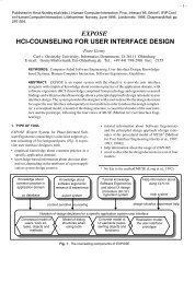expose hci-counseling for user interface design - Computer ...