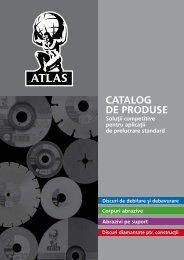 CATALOG DE PRODUSE - Atlasabrasives.eu