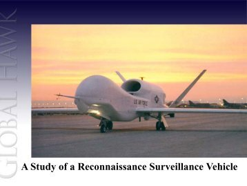 A Study of a Reconnaissance Surveillance Vehicle