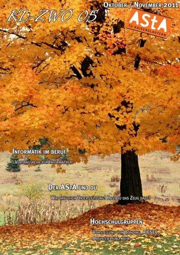 Oktober KL-ZWO 05 - AStA