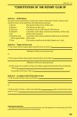 Standard Rotary Club Constitution - Page 2